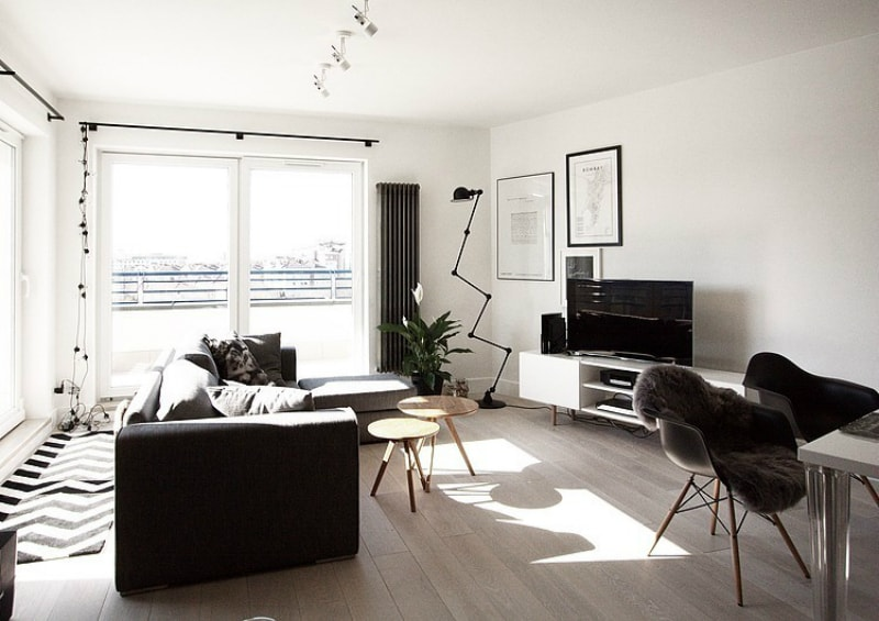 Modern Scandinavian living room