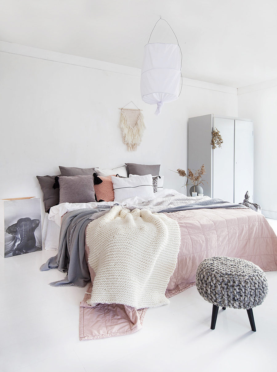 Scandinavian bedroom 900x1206 25 Scandinavian Interior Designs to Freshen up Your Home