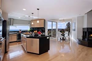 Image Interior Design Kitchen High-tech style