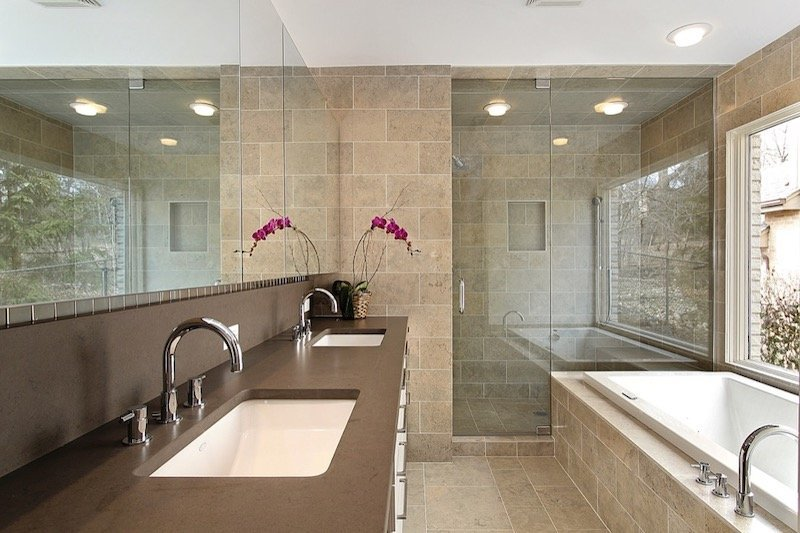 Lights Above Bathtub and Shower