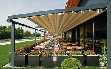 Retractable Pergola Covers  Awnings